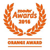 herlaeve award emblem orange - Foto Album van Herlaeve Vakantiewoningen Mechelen