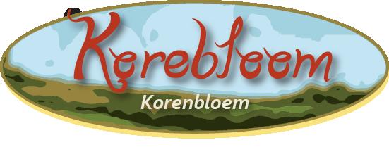 logo korebloom korenbloem groot - Vakantiewoning Korebloom
